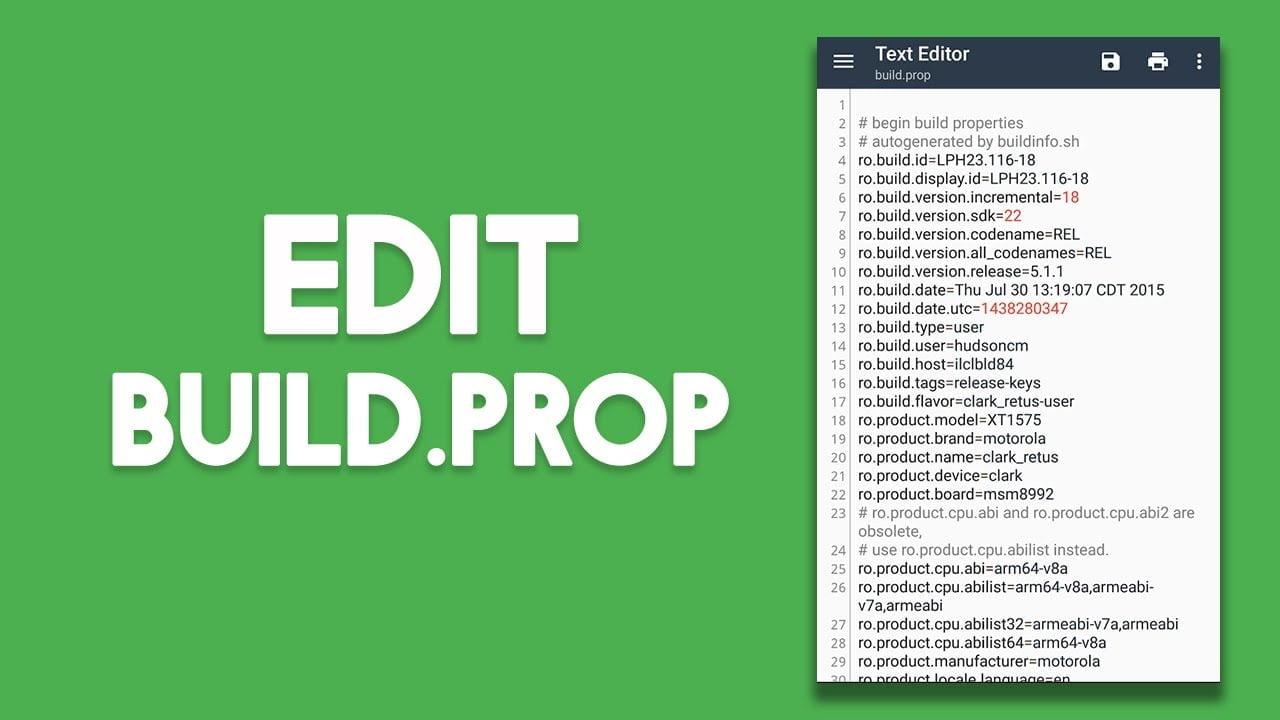 edit build prop
