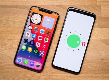 android 11 vs ios 14