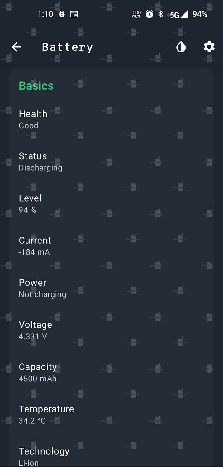 OnePlus 9 PhoneArena specs1