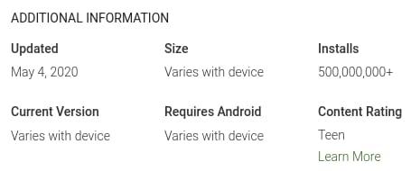 google go on google play store